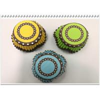 China Cake Baking eco-friendly Paper  Tulip Cup Cake colorful  Muffin Cases Cupcake Liners on sale