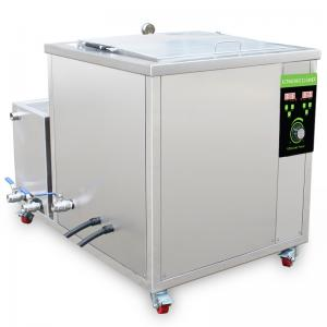China Stainless Steel Automatic Ultrasonic Cleaner Machine For Aircraft Parts on sale