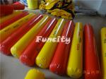 China Yellow / Red Color Inflatable Buoys For Water Park , Water Fence / Inflatable Buoys wholesale