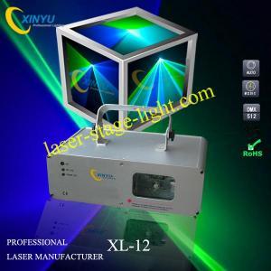 China XL-12 single head BG blue laser/green laser/Cyan color laser projector on sale