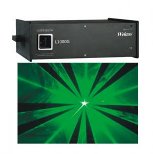 China High Powerful 1W 532nm Green Laser Light Fit Laser Advertisement And Projection on sale