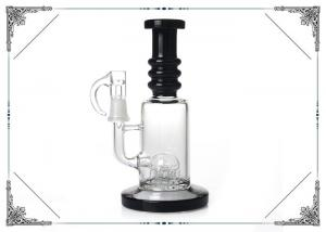 China 7 Inch Mini Glass Smoking oil Bong Six Arms Perc Welded With The Bottom 14mm Nail on sale