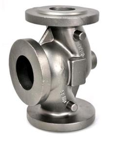 China High Precision Lost Wax Valve Parts Casting With Shot Blasting Surface Treatment on sale