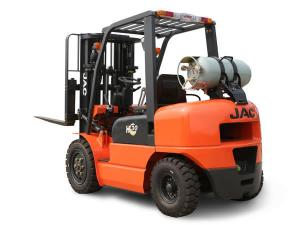 China Efficient Dual Fuel Forklift , Load Capacity 3 Ton Gasoline Lpg Forklift on sale