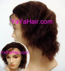 China Front 1.5 Hand Made Human Hair Lace Wigs on sale
