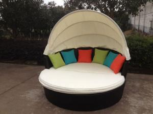 Quality modern outdoor living leisure daybed for sale