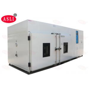 China China Factory Programmable 6m3 ASLI 2C/min Walk In Temperature Humidity Walk in Testing Chamber on sale