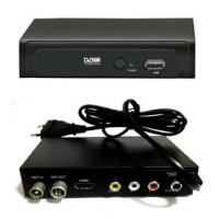 TV Receiver for Russian market Plastic Mini DVB T2