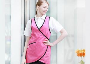 China Unisex Vest Kitchen Cooking Aprons , Durable Adult Cooking Apron For Coffee Shop on sale