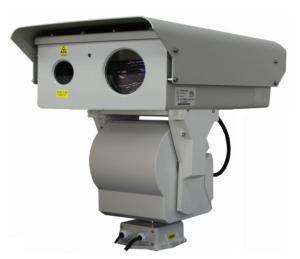 China Border Surveillance PTZ Infrared Camera , Long Range CMOS Laser Camera on sale