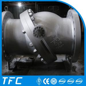 China flange non slam tilting disc check valve on sale
