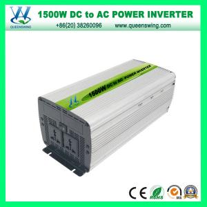 China Portable 1500W Modified Power Inverter for Solar Power System (QW-M1500) on sale