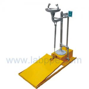Quality SHD100S-Stand emergency eyewash station,SS304,Color:Yellow,red,green for sale