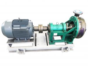 China Custom Industrial Chemical Pumps , Horizontal Centrifugal Pumps Chemical Resistant on sale