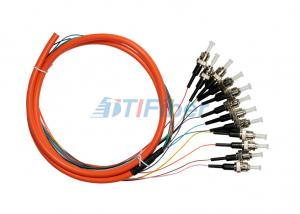China Fiber Optic Pigtail Multimode ST UPC for Fiber Patch Panel and Fiber Adapter on sale