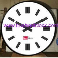 big clocks,oversize wall clocks,electrical master slave clocks system and movement-GOOD CLOCK (YANTAI) TRUST-WELL CO L
