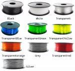 wholesale  Hot petg filament 1.75mm  good quality petg printing filament high strength 3d printer filam