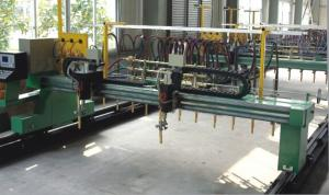 China H Steel CNC Flame Plasma Profile Straight Cutting Machine on sale