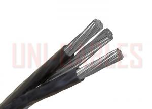 China Triplex Service Drop Aerial Bundled Cable ASCR With Aluminum Conductors on sale