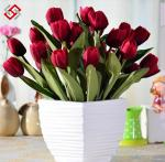 China Artificial Faux high quality Real Touch Tulip for interior decor valentine gifts wholesale