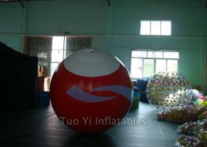 China 4.8M Height  Filling Helium Balloons Inflatable Balls Floating In Air on sale