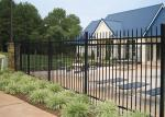 Professional Square Tubular Picket Fence For Automatic Security Gates
