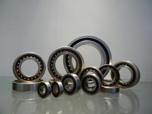 China GCr15 Angular Contact Ball Bearing 10mm - 200mm ID Range With Single / Double Row on sale