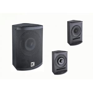 China Coaxial Professional Karaoke Equipment 2 Way Indoor  Audio Pa System on sale