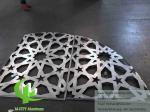 Laser cut Aluminum Sheet for outdoor facade cladding with powder coated 3mm
