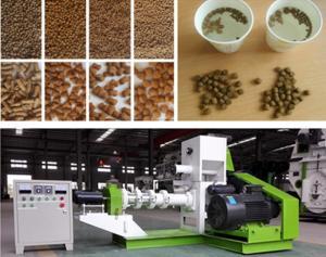 China High Grade Aquatic Animal Feed Extruder Pellet Machine Wear Resisting 100 KG/H on sale