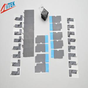 China 3w 2mmT Thermal Conductive Silicone Free Gap Filler Pad Z-paster180-30-10F For Car Battery on sale