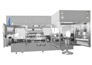 China 20000 Bottles / Hour Syrup Filling Machine Pharmaceutical Fully Automatic For 1-20 ML Bottles on sale