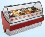 1920*1050*1300mm Length Ice Cream Display Freezer 600L Temperature -16 ~ -20℃