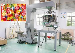 China Vertical Automated Packing Machine For Candy / Crisps 220V Input Voltage on sale