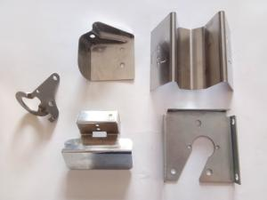 China Non Standard Stainless Steel Stamped Parts With Bending Drilling Technology on sale