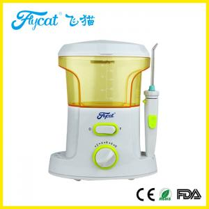 China 100 - 240 V Dental Care Electric Dental Flosser 5 Different Nozzles Battery Operated on sale