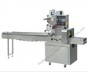 China Pillow Type Automatic Horizontal Frosted Plastic Pillow Packaging Machine For Snack on sale