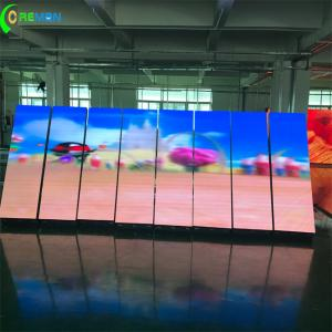China Internal P2 P3 Large LED Video Screens Front Access Fulll Color With Magnet on sale