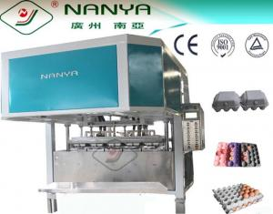 China Disposable Coffee Cup Pulp Tray Machine 3000Pcs/H , Paper Pulp Moulding Machinery on sale