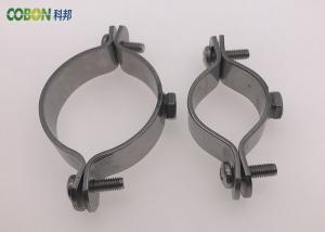 Welding Type Stainless Steel Pipe Clamps , 15 - 220mm Pipe