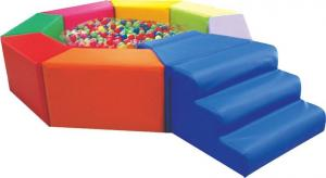 China Wonderful Soft play Series New Design Safety Indoor Soft Play Equipment - Octagonal ball pool on sale