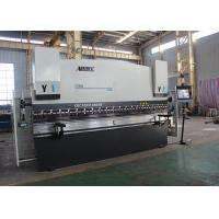 China 3200m X 110 Ton Horizontal Press Brake , Aluminum Press Brake Machine User Friendly on sale