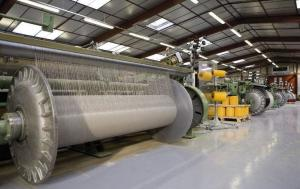 Quality Corrosion Resistant Geotextile Production Line , Blanket Manufacturing Machinery for sale