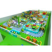 High Capacity Indoor Playground Equipment Consist Of Soft PU And High Density Foam