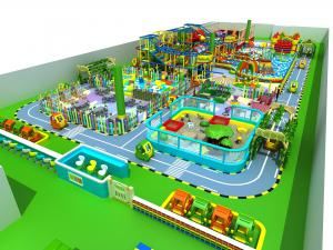 China High Capacity Indoor Playground Equipment Consist Of Soft PU And High Density Foam on sale