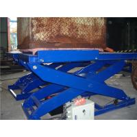 China 3.0 ton Hydraulic Motorcycle Lift , Electric Scissor Lift? Customizable on sale
