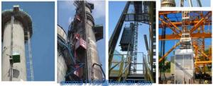 China New OEM SC50 Construction Tower Crane Elevator with different Mast Sections on sale