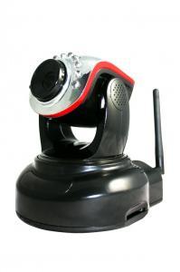 China Pan & Tilt Wireless RJ-45 PTZ IP Cameras of Mega Pixels CMOS Sensor  on sale