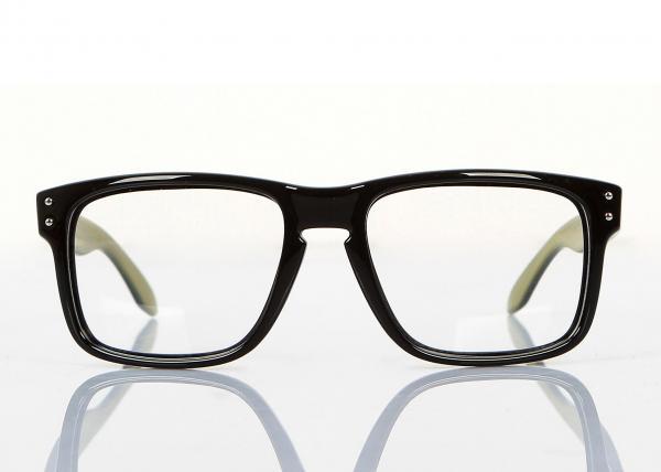Optical Big Square Eyeglass Frames For Men , Lightweight Retro Style ...