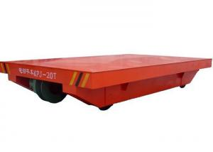 China Electric Flat Transfer Cart Safety And Flexibility For Carrying Heavy Transport on sale